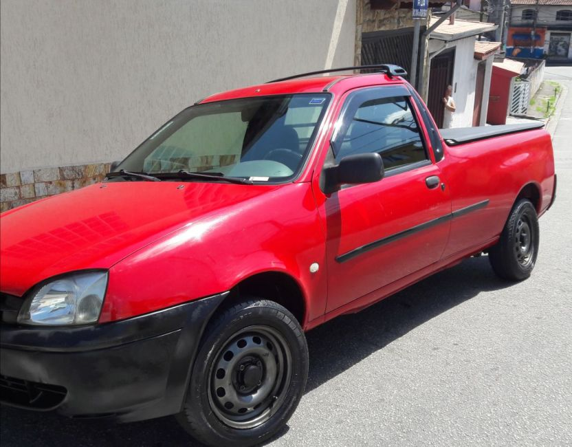 Ford Courier L 1.6 MPi (Cab Simples) - Foto #3