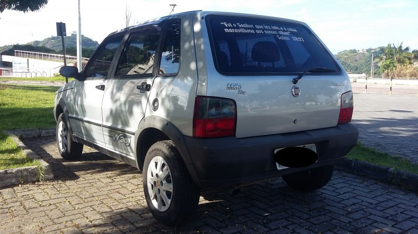 Fiat Uno Mille Fire Economy Way 1.0 (Flex) 4p - Foto #7