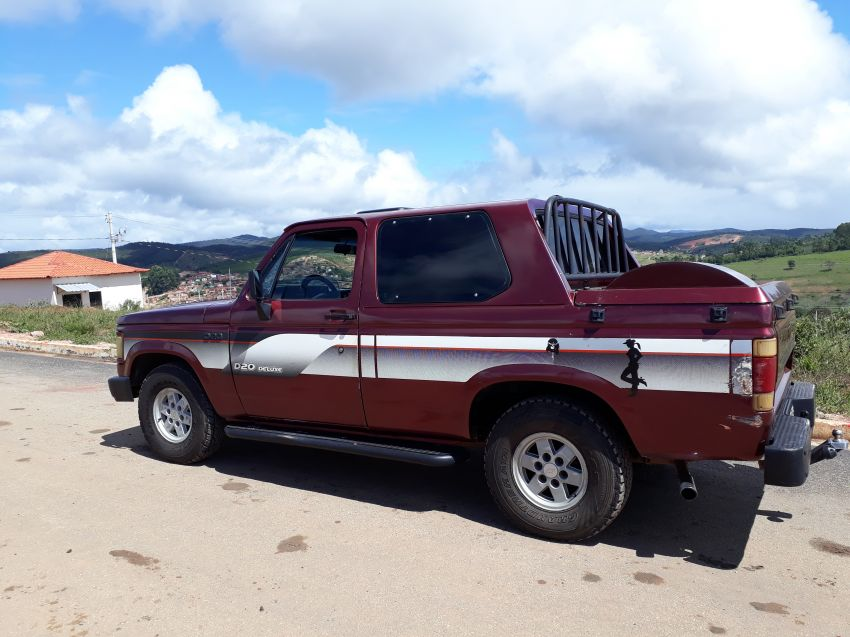 Chevrolet D20 Pick Up Custom Luxe 4.0 (Cabine Dupla) - Foto #6