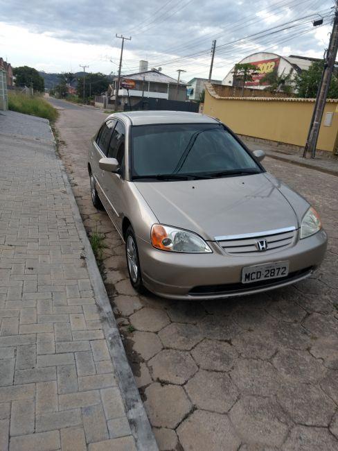 Honda Civic Sedan EX 1.7 16V (aut) - Foto #4