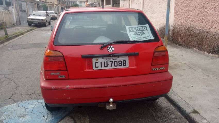 Volkswagen Golf GL 1.8 MI - Foto #6