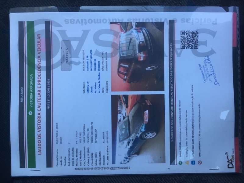 Fiat Stilo 1.8 16V - Foto #10