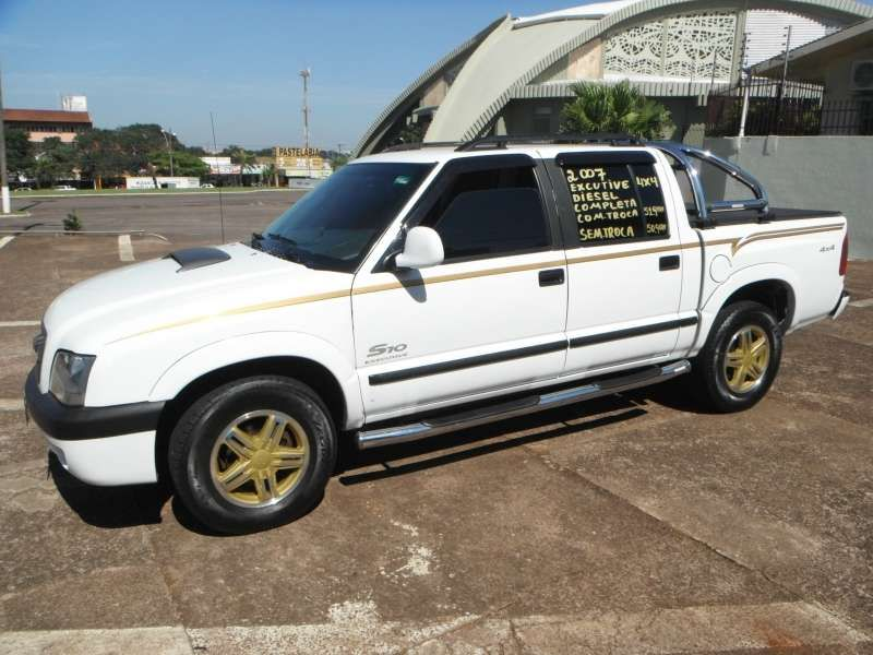 Chevrolet S10 Executive 4x4 2.8 Turbo Electronic (Cabine Dupla) - Foto #5