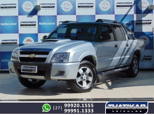 Chevrolet S10 Executive 4X2 Cabine Dupla 2.4 Mpfi 8V Flexpower - Foto #1