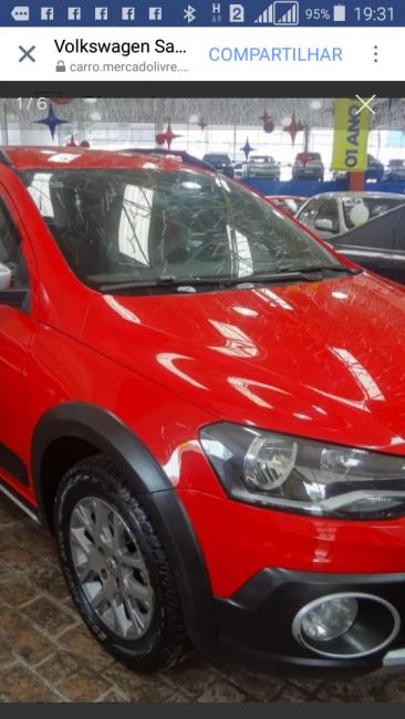 Volkswagen Saveiro Cross 1.6 16v MSI (Flex) (Cabine Dupla) - Foto #4