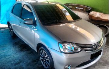 Toyota Etios Sedan XLS platinum 1.5 (Flex)