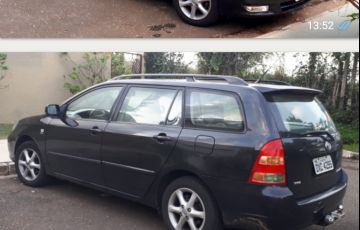 Toyota Corolla Fielder SEG 1.8 16V (flex) (aut)