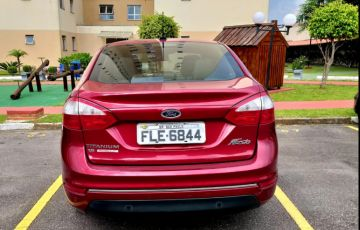 Ford New Fiesta Sedan 1.6 Titanium PowerShift (Flex) - Foto #4