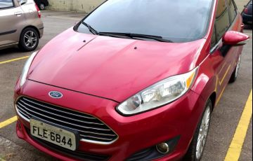Ford New Fiesta Sedan 1.6 Titanium PowerShift (Flex) - Foto #2