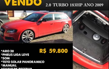 Audi A4 Avant 2.0 FSI Turbo (multitronic)