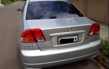 Honda Civic Sedan LX 1.7 16V - Foto #7
