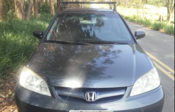 Honda Civic Sedan LX 1.7 16V - Foto #7