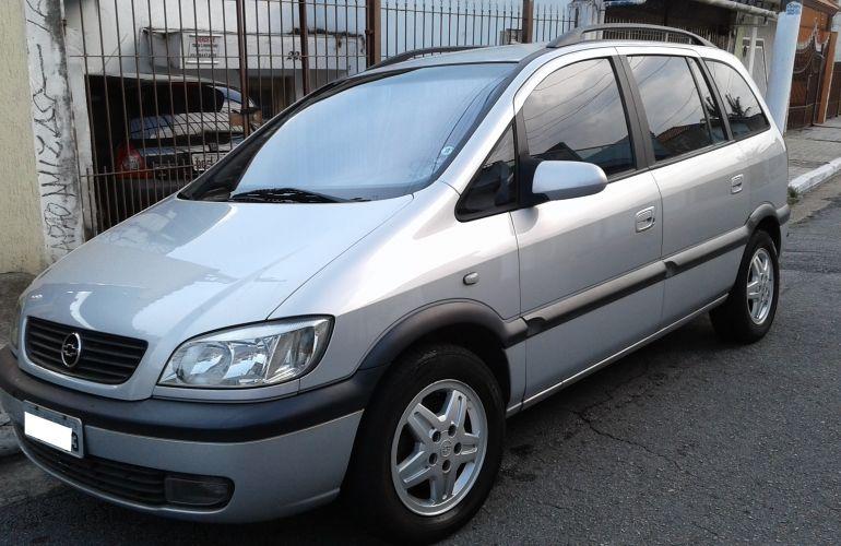 Chevrolet Zafira Cd 2 0 8v 2001  2002 - Sal U00e3o Do Carro