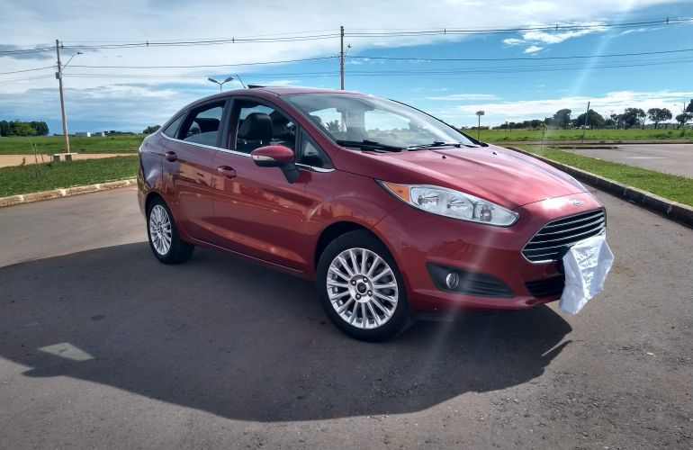 Ford New Fiesta Sedan 1.6 Titanium PowerShift Plus (Flex) - Foto #2