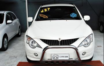 SsangYong Actyon 2.0 Glx 4x4 16V 141cv Turbo Intercooler - Foto #2