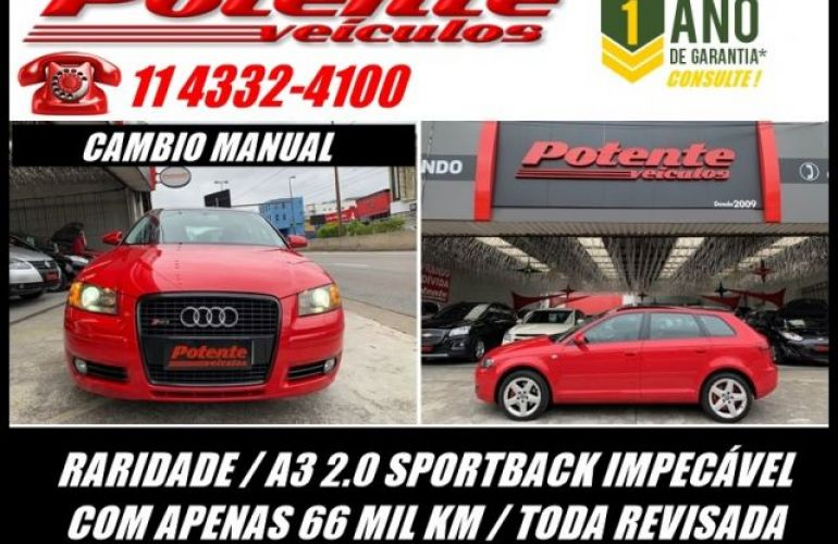 Audi A3 Sportback 2.0 16V Turbo - Foto #1