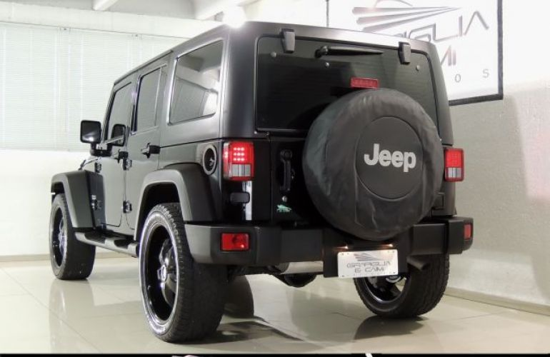 Jeep Wrangler Sport Unlimited 4X4 Capota Dupla 3.6 V6 - Foto #3
