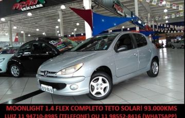 Peugeot 206 Moonlight 1.4 8V Flex - Foto #1
