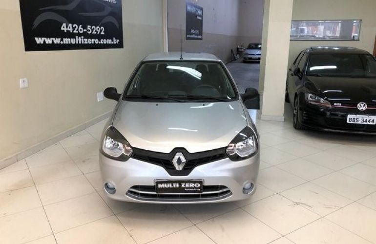 Renault Clio Expression 1.0 16V Hi-Flex - Foto #8