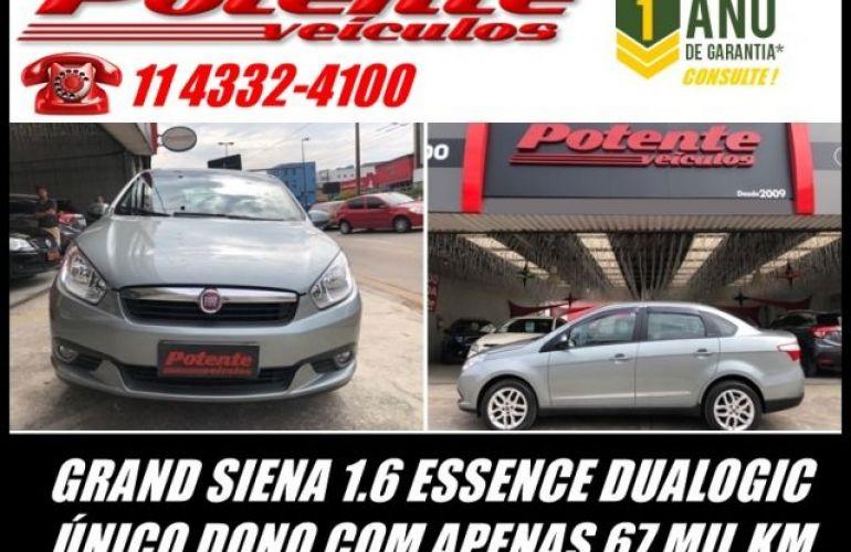 Fiat Grand Siena. Essence Dualogic 1.6 16V Flex - Foto #1