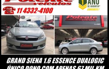 Fiat Grand Siena. Essence Dualogic 1.6 16V Flex