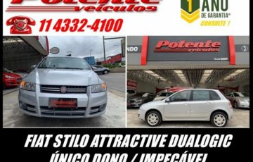 Fiat Stilo Attractive Dualogic 1.8 MPI 8V Flex