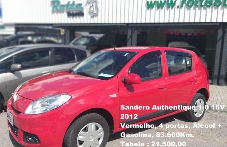 Renault Sandero Authentique 1.0 16V - Foto #1