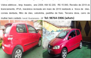 Volkswagen Fox City 1.0 8V (Flex) 2p - Foto #2