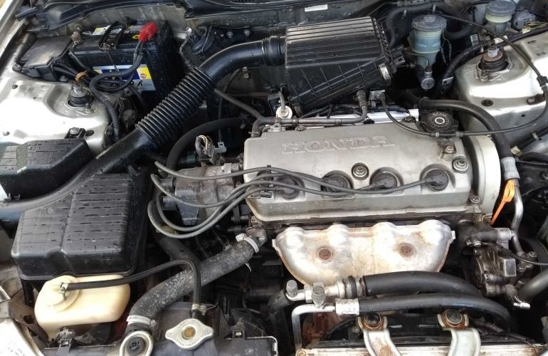 Honda Civic Sedan LX 1.6 16V - Foto #6