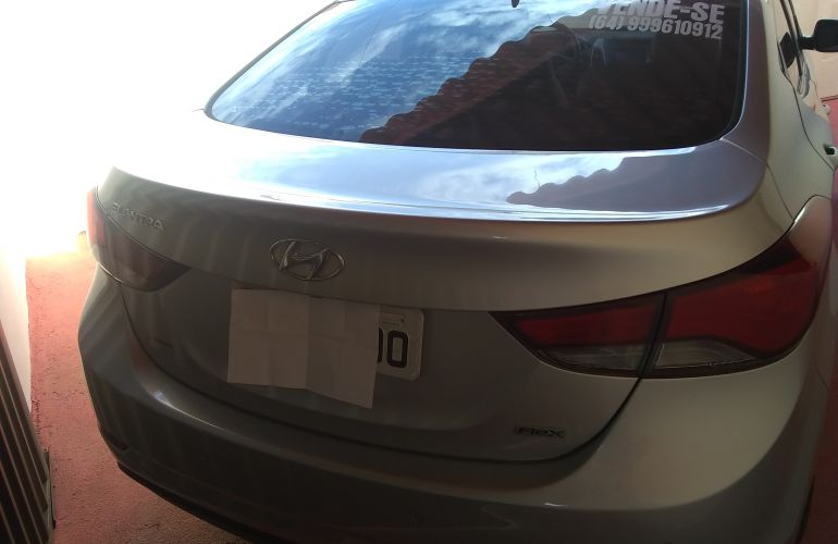 Hyundai Elantra Sedan GLS 2.0L 16v (Flex) (Aut) - Foto #2