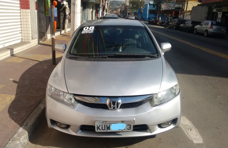 Honda New Civic LXS 1.8 16V (Aut) (Flex) - Foto #6