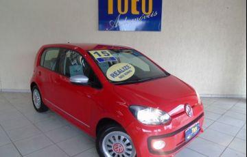 Volkswagen up! Black White Red 1.0l MPI Total Flex