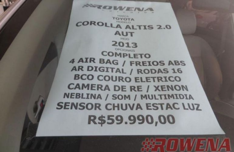 Toyota Corolla Altis 2.0 16V Flex - Foto #8