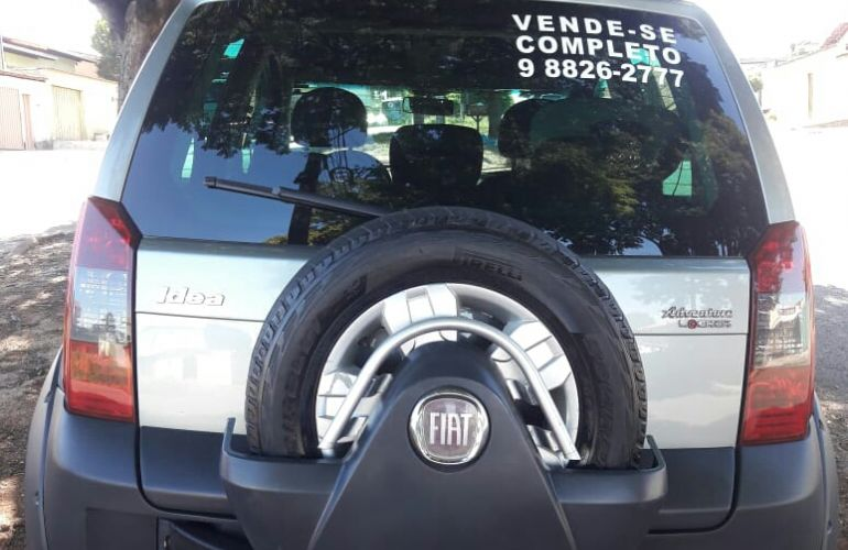Fiat Idea Adventure Locker 1.8 (Flex) - Foto #6