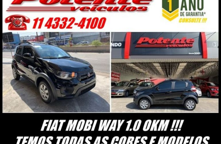 Fiat Mobi Way 1.0 Flex - Foto #1