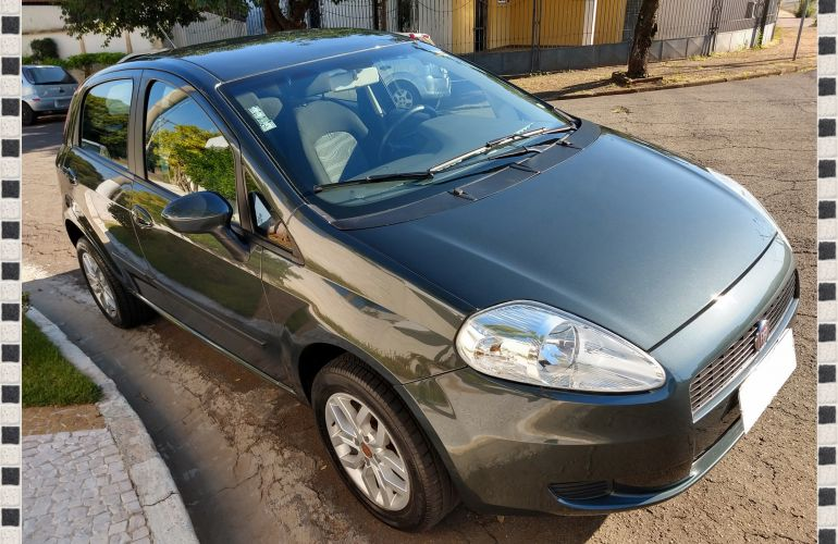 Fiat Punto Attractive 1.4 (Flex) - Foto #4