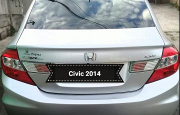 Honda New Civic LXS 1.8 16V i-VTEC (Flex)