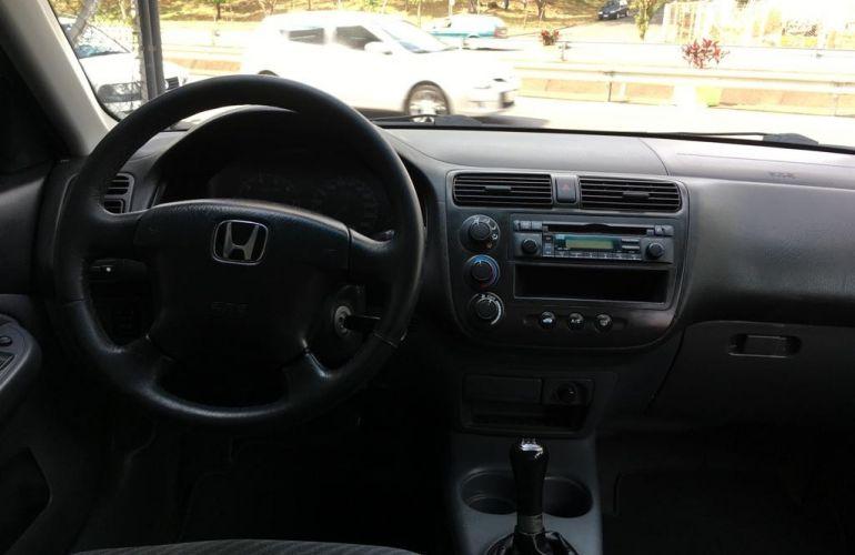 Honda Civic Sedan LX 1.7 16V - Foto #8