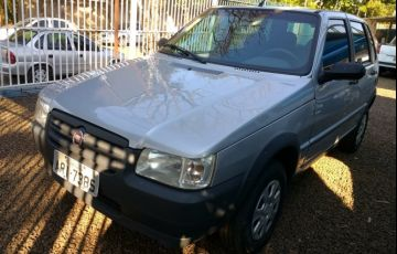 Fiat Uno Mille Fire Economy Way 1.0 (Flex) 4p