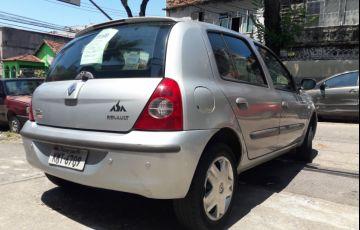 Renault Clio Hatch. Authentique 1.0 16V (flex) 4p - Foto #4