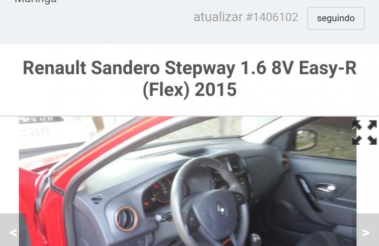 Renault Sandero Stepway 1.6 8V (Flex) - Foto #1