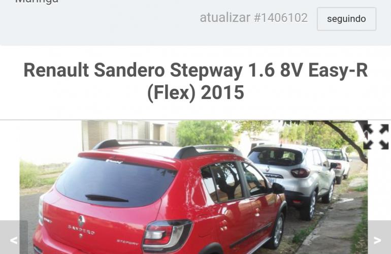 Renault Sandero Stepway 1.6 8V (Flex) - Foto #2