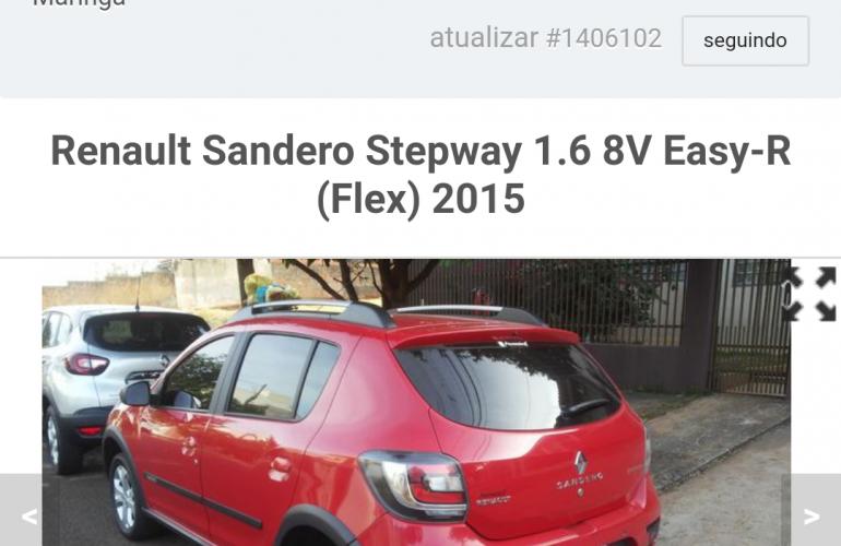 Renault Sandero Stepway 1.6 8V (Flex) - Foto #3