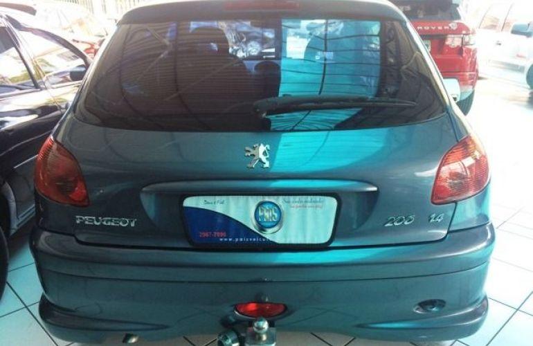 Peugeot 206 Feline 1.4 8V Flex - Foto #6