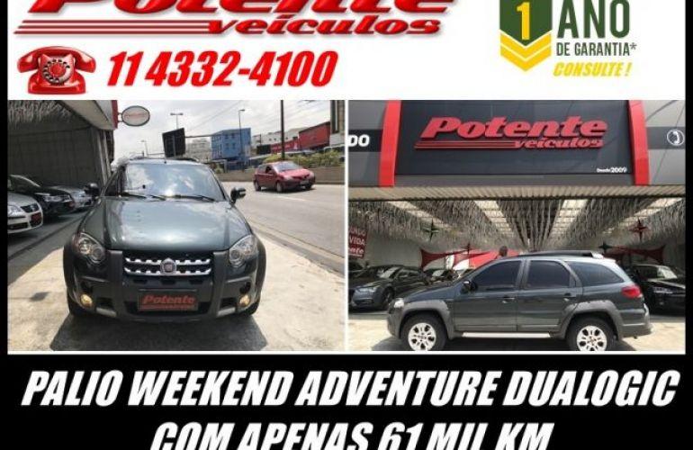 Fiat Palio Weekend Adventure Dualogic 1.8 16V Flex - Foto #1