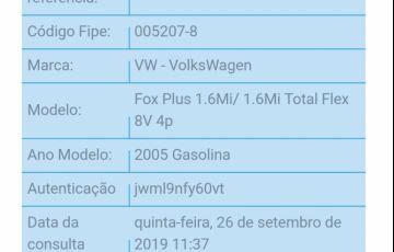 Volkswagen Fox Plus 1.6 8V (Flex) - Foto #4