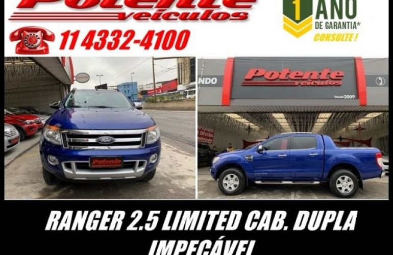 Ford Ranger Limited 4X2 CD 2.5 Flex - Foto #1