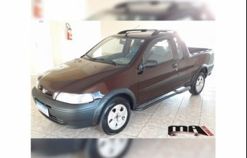 Fiat Strada Working 1.5 Mpi (Cabine Estendida)
