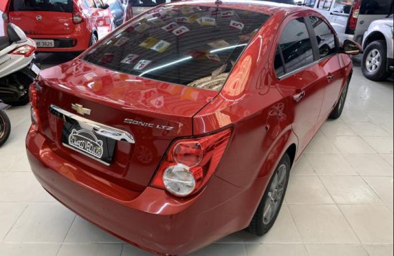 Chevrolet Sonic Sedan LTZ 1.6 (Aut) - Foto #4