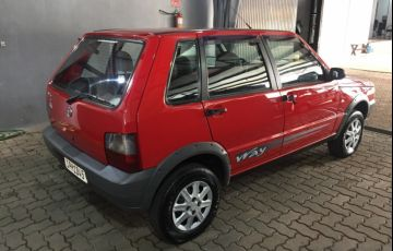 Fiat Uno Way 1.0 8V (Flex) 4p - Foto #6